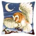 Vervaco Owl Cushion Cross Stitch Kit