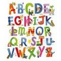 Vervaco Animal Alphabet Cross Stitch Kit