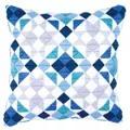 Vervaco Triangles Cushion Long Stitch Kit