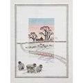Derwentwater Designs Snowy Sheep Christmas Cross Stitch Kit