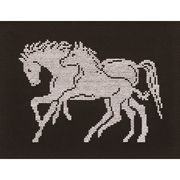 Permin Horse and Foal Cross Stitch Kit