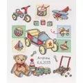 Anchor Boy Birth Sampler Cross Stitch Kit