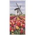 Anchor Dutch Tulips Landscape Cross Stitch Kit