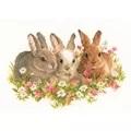 Vervaco We Three Kings - Rabbits Cross Stitch Kit