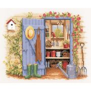 Vervaco Tool Shed Cross Stitch Kit