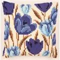 Vervaco Crocus Cushion Floral Cross Stitch Kit