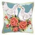 Vervaco White Doves Cushion Cross Stitch Kit