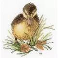 Lanarte Duckling 1 Cross Stitch Kit