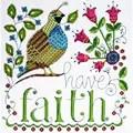 Design Works Crafts Have Faith Cross Stitch Kit