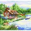 Design Works Crafts Lakeside Cross Stitch Kit