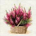 RIOLIS Scottish Heather Floral Cross Stitch Kit
