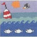 Permin Bouy at Sea Cross Stitch Kit