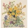 Eva Rosenstand Easter Flowers - Aida Floral Cross Stitch Kit