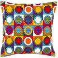Vervaco Colourful Circles Cushion Long Stitch Kit
