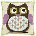 Vervaco Mister Owl Cushion Cross Stitch Kit