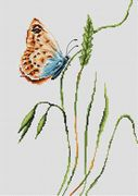 Luca-S Smell of Spring Cross Stitch Kit