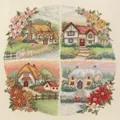 Anchor Seasonal Cottages Christmas Cross Stitch Kit