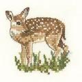 Heritage Fawn - Aida Cross Stitch Kit