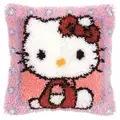 Vervaco Hello Kitty Latch Hook Cushion Latch Hook