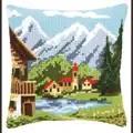 Vervaco Alpine Village Cushion Cross Stitch Kit
