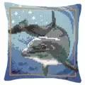 Vervaco Dolphin Cushion Cross Stitch Kit