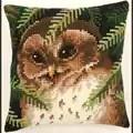 Vervaco Baby Owl Cushion Cross Stitch Kit