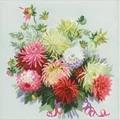 RIOLIS Dahlias Floral Cross Stitch Kit