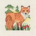 Permin Fox Cross Stitch Kit