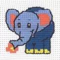 Permin Elephant Cross Stitch Kit