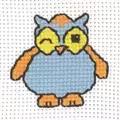 Permin Winking Owl Cross Stitch Kit