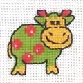 Permin Cow Cross Stitch Kit