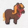 Permin Pony Cross Stitch Kit