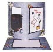 Anchor Embroidered Birthday Card Embroidery Kit