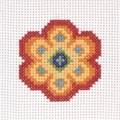 Anchor Flower Floral Cross Stitch Kit