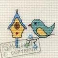 Mouseloft Birdhouse Cross Stitch Kit