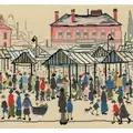 Bothy Threads Market Scene, Northern Town Cross Stitch Kit