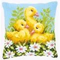 Vervaco Duckling Cushion Cross Stitch Kit
