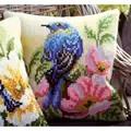 Vervaco Bird and Rose Cushion Cross Stitch Kit