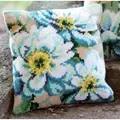 Vervaco Japanese Anemones Cushion II Cross Stitch Kit
