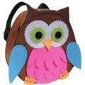 Kleiber Pink/Blue Owl Backpack Craft Kit