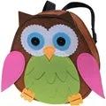 Kleiber Green/Pink Owl Backpack Craft Kit