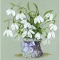 RIOLIS Snowdrops Floral Cross Stitch Kit