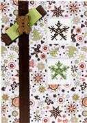 Luca-S Snowflakes Christmas Card Making Cross Stitch Kit