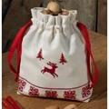 Permin Reindeer Bag Christmas Cross Stitch Kit