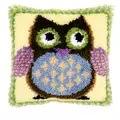 Vervaco Mr Owl Cushion Latch Hook Kit