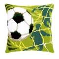 Vervaco Football Cushion Cross Stitch Kit