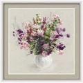 RIOLIS Summer Bouquet Floral Cross Stitch Kit