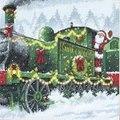 Dimensions Santa Express Christmas Cross Stitch Kit