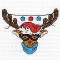 DMC Rudolf Mini Kit Cross Stitch
