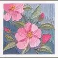 Derwentwater Designs Camelias Floral Christmas Long Stitch Kit